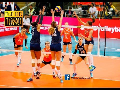 USA vs Netherlands | 6 July 2016 | Final Round | 2016 FIVB Volleyball World Grand Prix