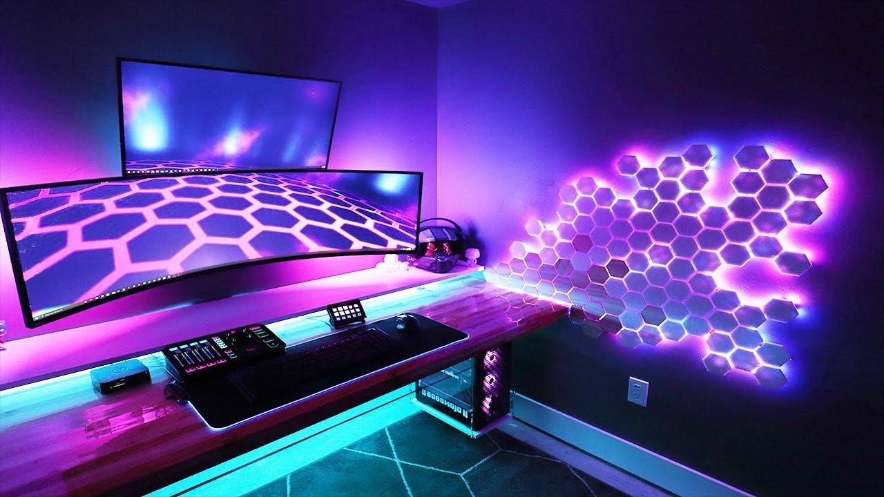 diy rgb lighting for your gaming setup how to make