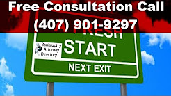 Emergency Bankruptcy Attorney Orlando|(877) 541-9307|FL|Lawyer|Foreclosure|Wage Garnishment|Filing