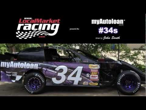 myAutoloan #34 at Kennedale Speedway Park 3/31/2012 Sport Modified Dirt Track