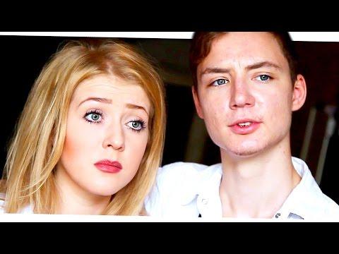 Mit Minirock durchsichtiger Bluse, Korsett, Minirock und Nahtstrümpfen beim Shoppen von YouTube · Dauer:  1 Minuten 56 Sekunden