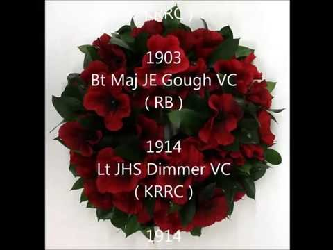 The 59 Regimental VC`s of the Royal Green Jackets
