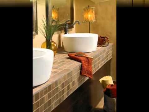 Easy diy bathroom countertops decorating ideas youtube - How to decorate a bathroom counter ...