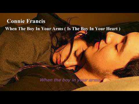 When The Boy In Your Arms ( 1961 ) - CONNIE...