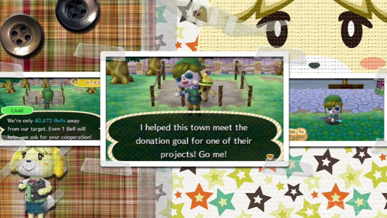 Animal crossing new leaf day 26 perfect town rating youtube for Agrandissement maison animal crossing new leaf