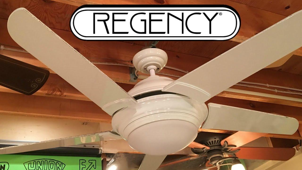 Regency Solano Ceiling Fan - YouTube