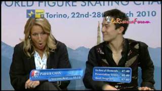 TORINO 2010 24/03/2010 - MEN Short Program -10/18-- CAN Patrick CHAN
