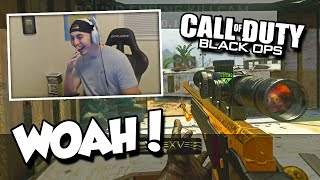 SICK BACKDROP TRICKSHOT! (BO1 SnD Trickshotting w/ The Fellas)