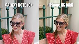 Galaxy Note 10 Plus vs iPhone XS Max Camera Comparison Test!