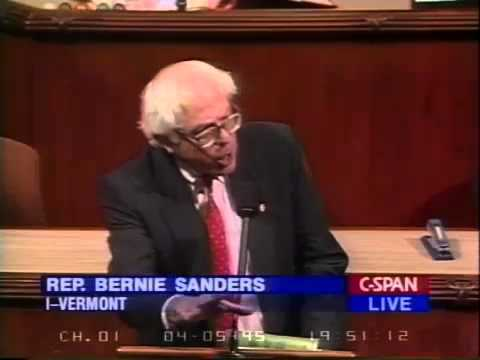 Bernie Sanders: Corporate Welfare as Class Warfare (4/5/1995)