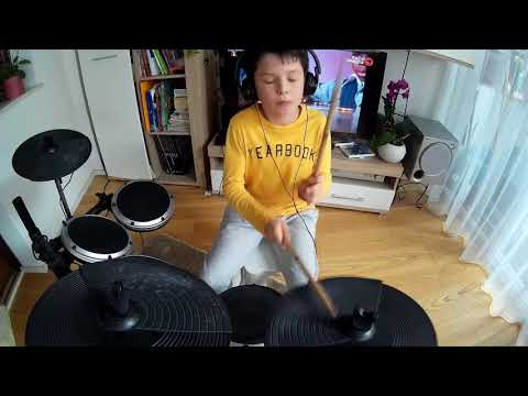 Alan Walker -Faded( slushii remix) (Tymothy drum cover)