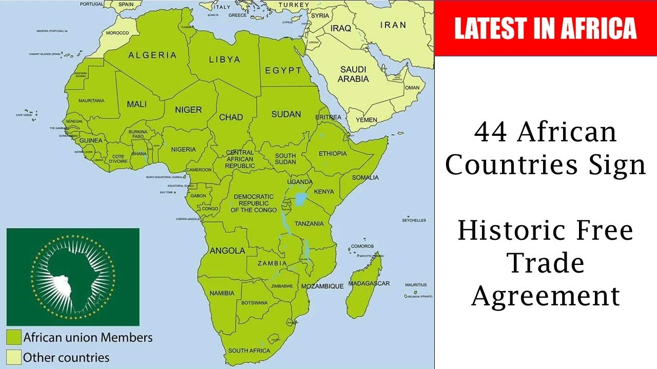 44 African Countries Sign Historic Free Trade Agreement Youtube