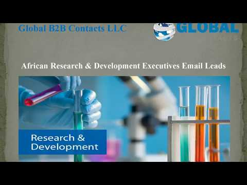 African Research & Development Executives Email Lead