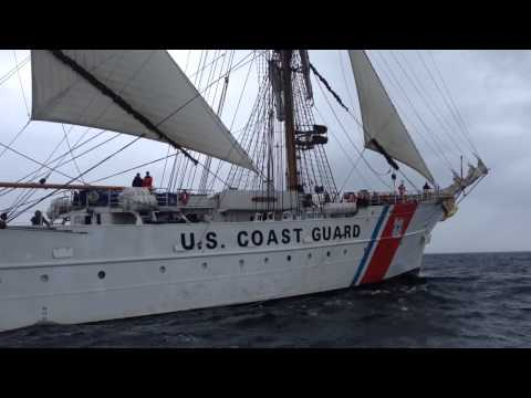 Tall ship Eagle heads to Cape Cod