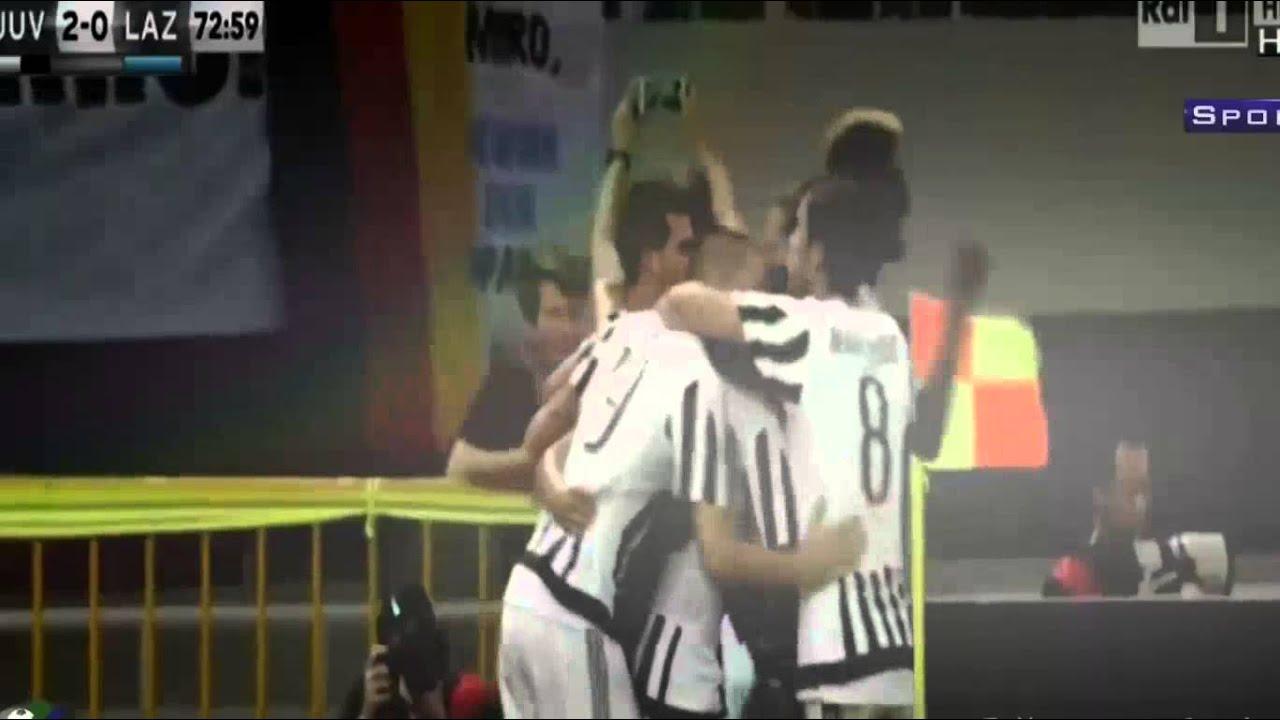 Juventus 2 - 0 Lazio All Goals Highlights Italia Super Cup 8/8/2015