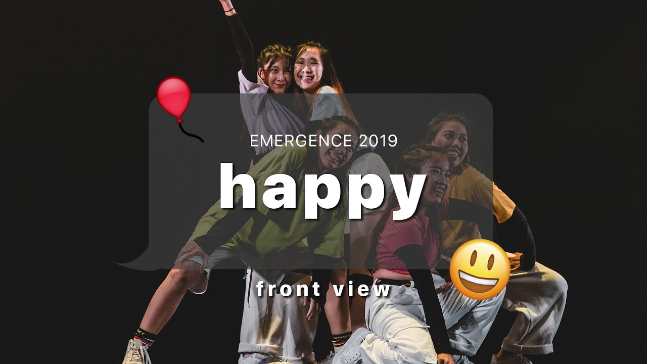 Emergence 2019 | Front View | Happy