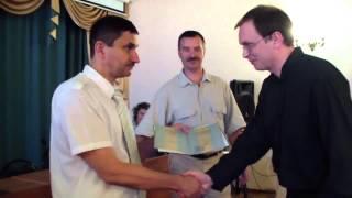Вручение дипломов выпускникам 2013 года очного и очно-заочного отделений. РХГА