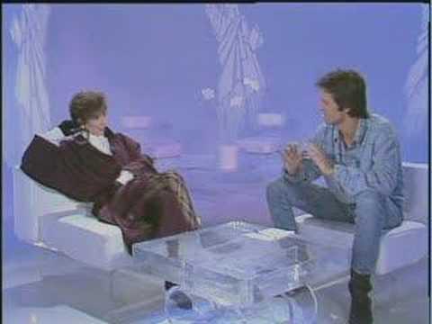 Mylène Farmer - mars 1986 - 1ère promo pour cendres de lune