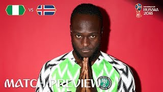 Victor Moses (Nigeria) - Match 24 Preview - 2018 FIFA World Cup™
