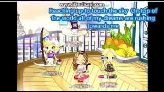 Fantage Music Video- Barbie On top of the world Lyrics!