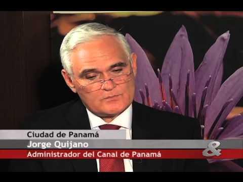 Pregunta Yamid: Jorge Quijano, Administrador del canal de Panamá