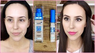 NEW Maybelline Better Skin Foundation + Concealer Review/First Impression