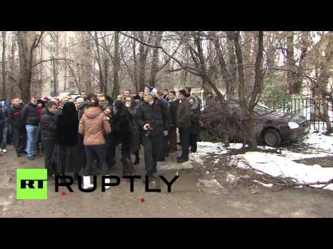 Russia: Funeral held for Volgograd bombing victim