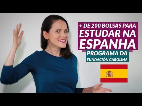 Bolsas da Fundación Carolina para estudar na Espanha | Mestrado no Exterior - Partiu Intercâmbio