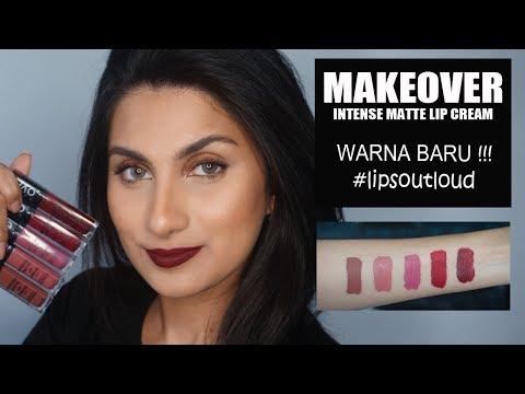 makeover-intense-matte-lip-cream-warna-baru-#lipsoutloud-|-jezhira-makeup
