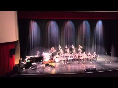 "Sussman Middle School Jazz Band performs ""Bossa Bonita"""