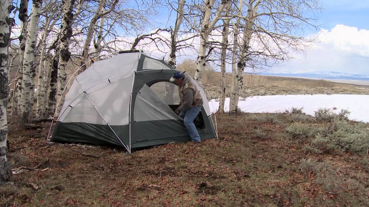 & Cabelau0027s Alaskan Guide® Geodesic Tent | Camp Cabelau0027s - YouTube