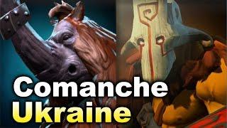 Comanche RU vs Team Ukraine - WESG Dota 2