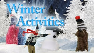 Winter Activities for Kids | Staying Active in Winter | Nicholas Gnome SuperShort