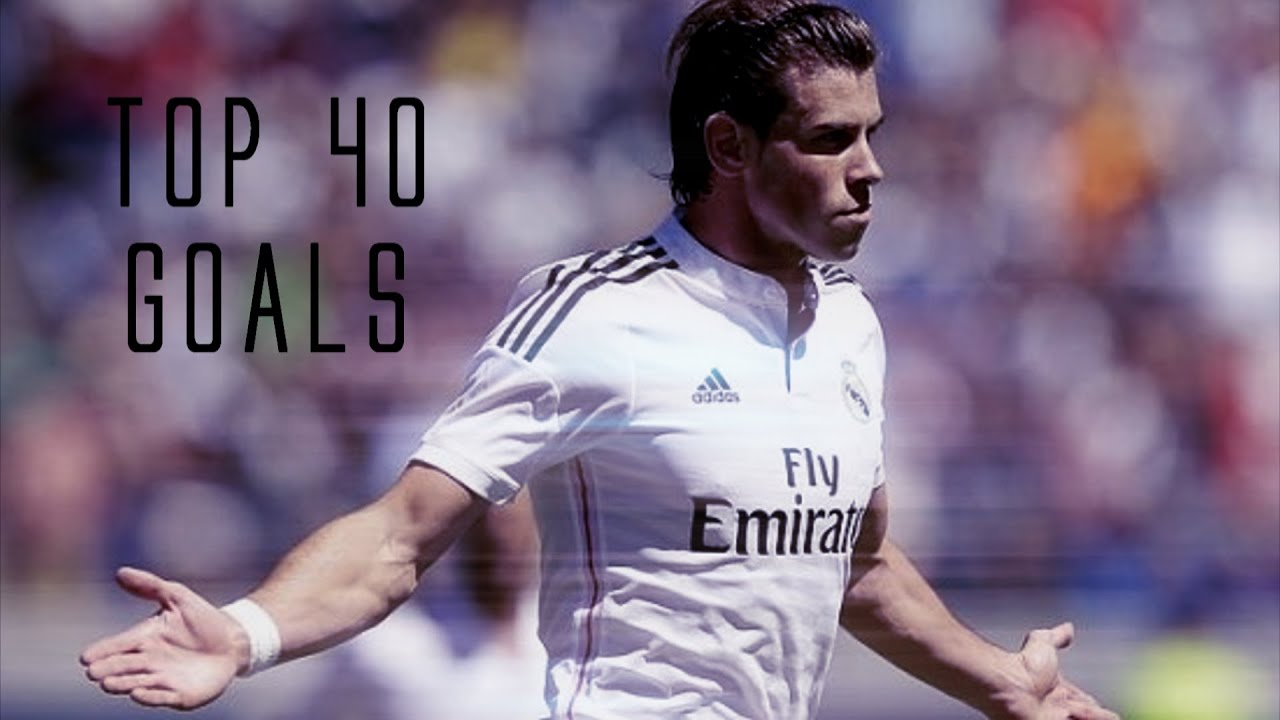 Download Gareth Bale   Top 40 Goals 2006-2015     1080p HD