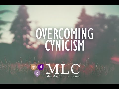 Meaningful Mondays - Cynicism