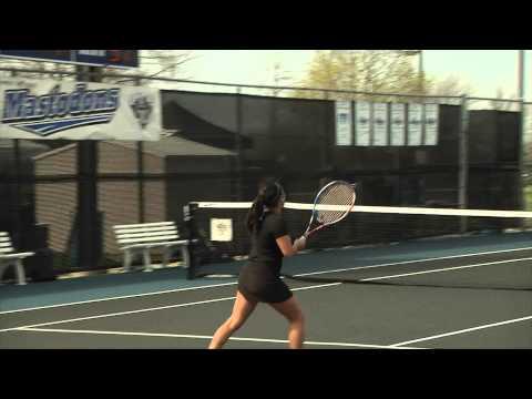 4-26-13 Women's Tennis post South Dakota