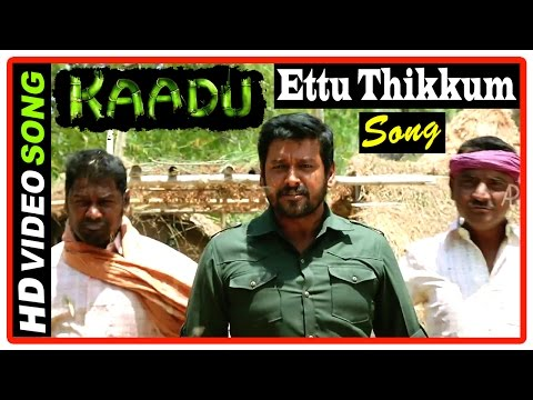 Kaadu Tamil Movie Scenes HD | Aadukalam Naren learns the truth | Ettu Thikkum Song | Vidharth