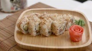 Доставка суши в Омске - Японский домик. Приготовление ролла Бонита(, 2016-05-19T06:00:09.000Z)