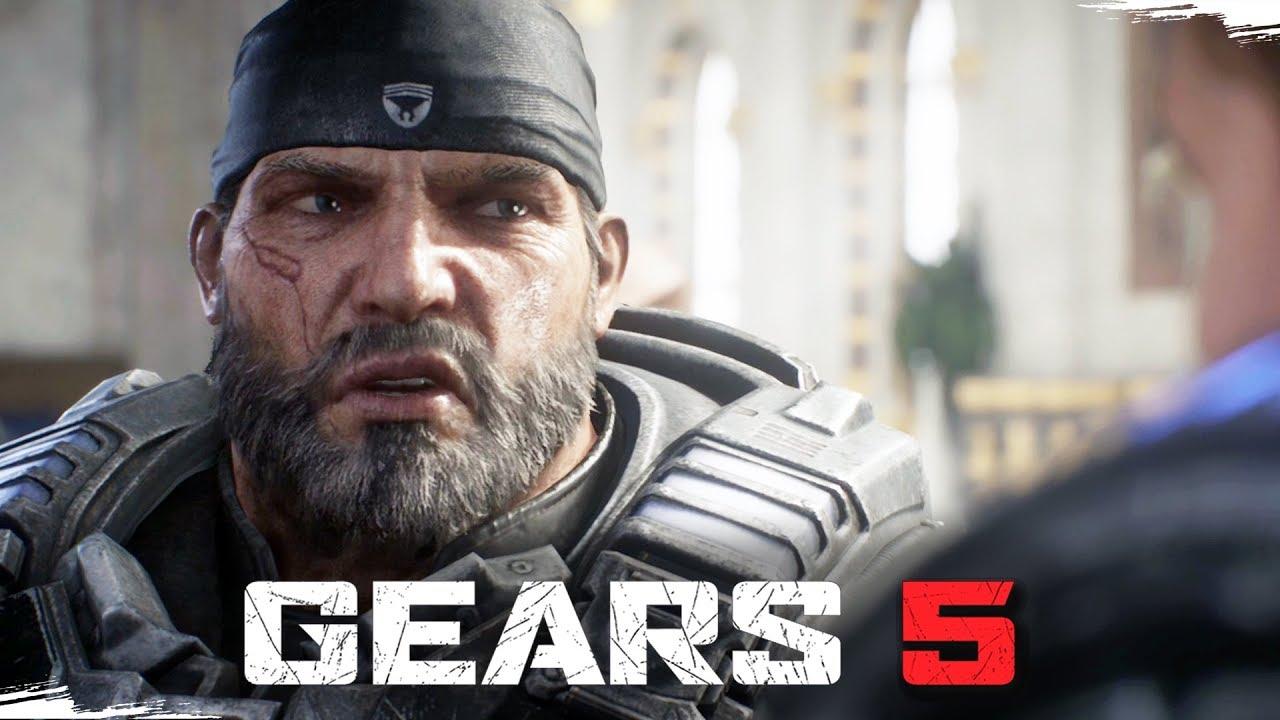 GEARS 5 - O Início de Gameplay do Modo Campanha | Dublado e Legendado em Português PT-BR