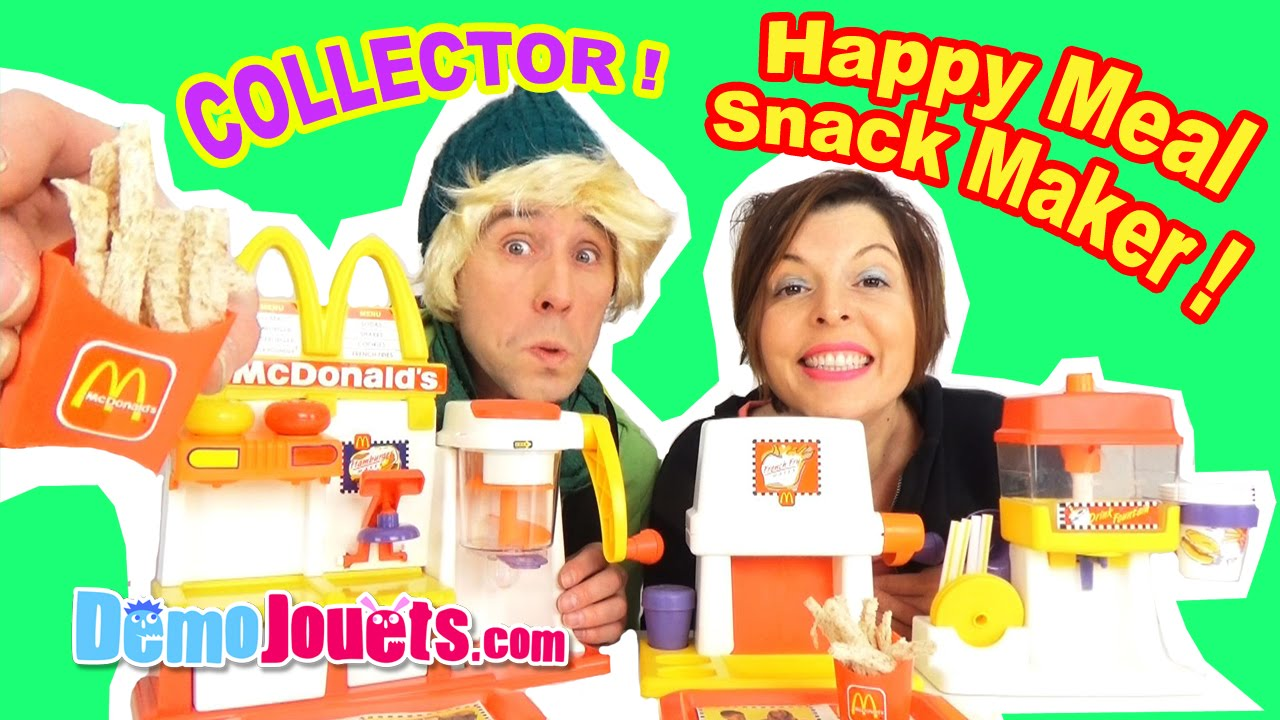 Maker Démo Snack Mcdonalds Happy SetSpecial French Meal Fry Mega Jouets nkXN0wPZ8O