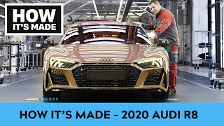 How it's made - 2020 Audi R8 Supercar - Assembly |CAR REVIEW|