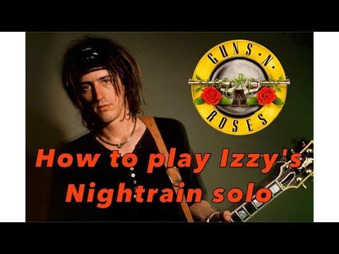 Izzy Stradlin Nightrain guitar solo lesson (Guns N' Roses) – Weekend Wankshop 213