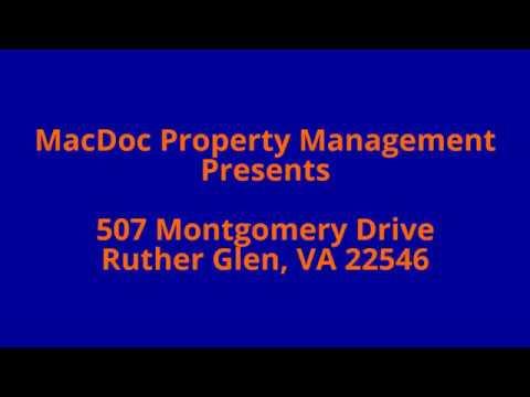 507 Montgomery Drive, Ruther Glen, VA 22546
