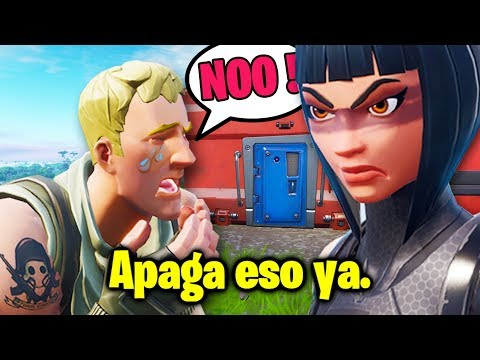 Mi hermana me regañó mientras jugaba Fortnite 😔