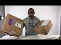 LIVE DOUBLE SNEAKER UNBOXING: What ARE THOSE!!!!???!!!??