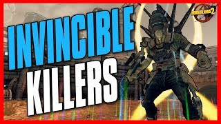 Borderlands 2 | Killing Invincible Raid Bosses with Kung Foo - Legendary Loot Drops