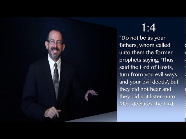 Zacarías capítulo 1 - Dr. Baruch Korman