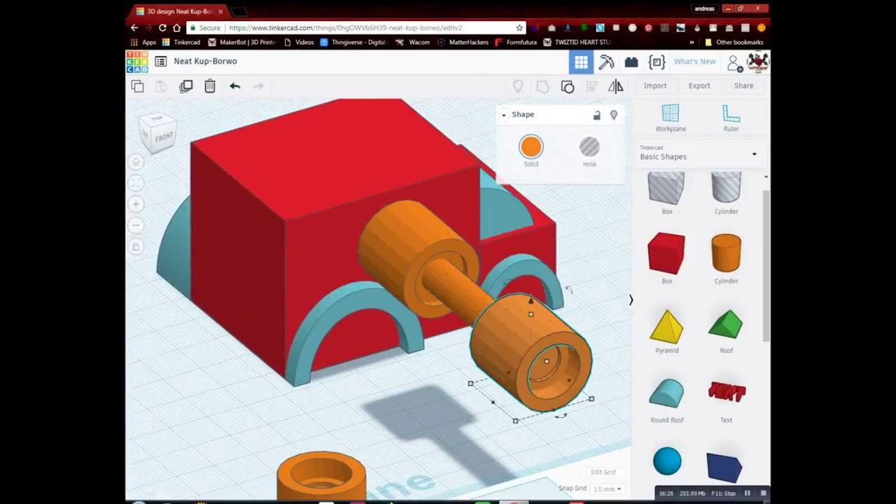 Lets draw with Dremen - Van 3D Model in Tinkercad - YouTube
