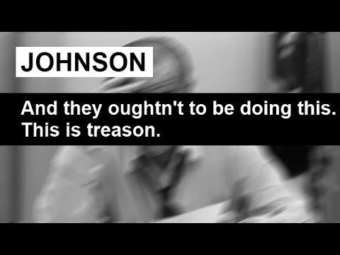 """This is Treason!"" Lyndon Johnson Everett Dirksen Phone Call November 2 1968"
