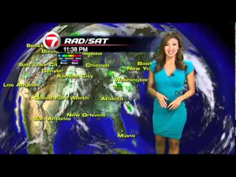 Julie Durda Weather Miami, Fort Lauderdale, Channel 7 News Fox WSVN